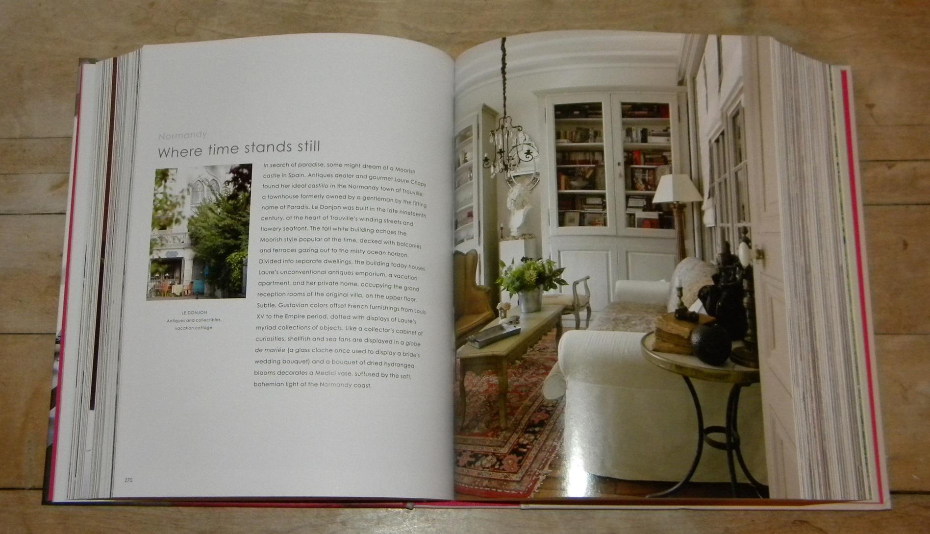 Bar Le French Flair ex libris — french flair: modern vintage interiors