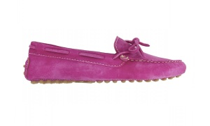 fuchsia mocs (side)